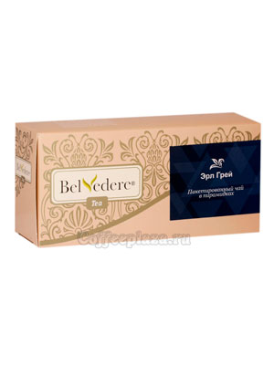 Чай Belvedere Эрл Грей Пирамидки 3 гр 17 шт