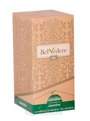 Чай Belvedere Жасмин Пакетики 1,5 гр 25 шт