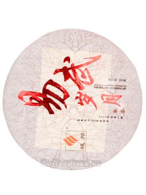 Пуэр блин Шанхай шу BP-008 357 гр