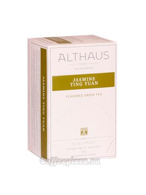 Чай Althaus Jasmin Ting Yuan зеленый 20х1,75 гр пакет
