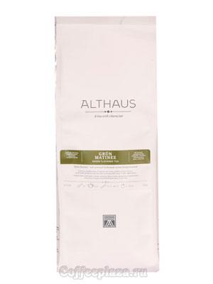 Чай Althaus листовой Grun Matinee зеленый 250 гр