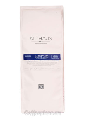 Чай Althaus листовой Strawberry Cream Ameli 250 гр