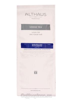 Чай Althaus листовой Darjeeling Puttabong 250 гр
