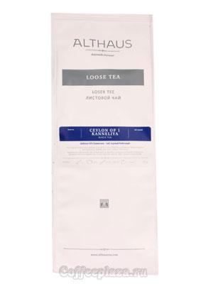 Чай Althaus листовой Ceylon OP1 Kanneliya 250 гр
