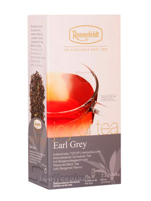 Чай Ronnefeldt Joy of tea Earl Grey/Эрл Грей в пакетиках 15 шт.х 2,3 гр