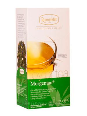 Чай Ronnefeldt Joy of tea Morgentau/Моргентау в пакетиках 15 шт.х 2,5 гр