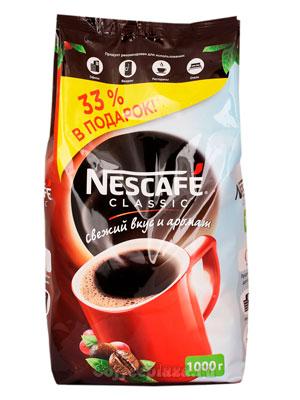 Кофе Nescafe Classic 1 кг
