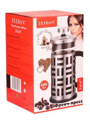 Френч-пресс Zeidan (Z-4147) 600 мл