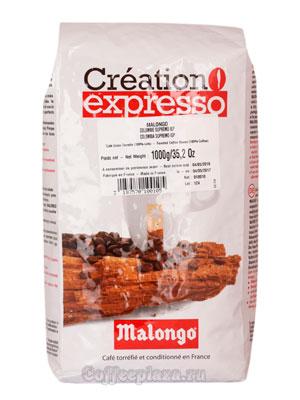 Кофе Malongo в зернах Colombia Supremo 1кг