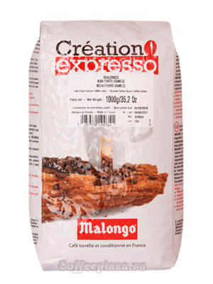 Кофе Malongo в зернах Ethiopia Sidamo 1 кг