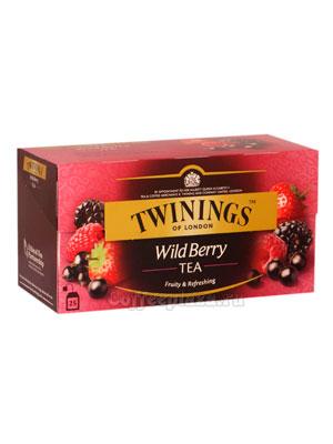 Чай Twinings Черный Лесные Ягоды (25 пакетиков)