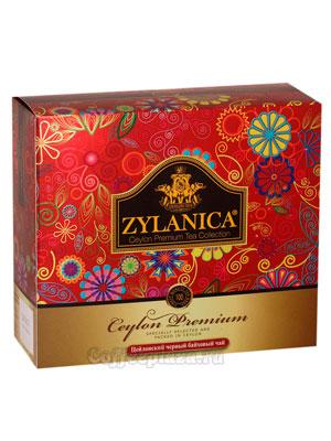 Чай Zylanica Сeylon Premium Black Tea 100 пакетиков