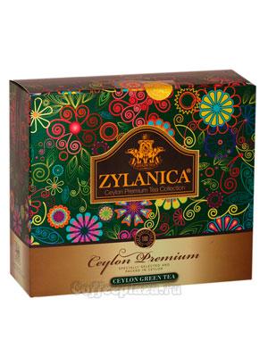 Чай Zylanica Сeylon Premium Green Tea 100 пакетиков