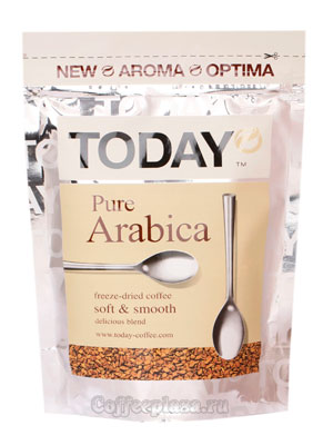 Кофе Today растворимый Pure Arabica 150 гр