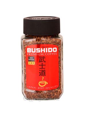 Кофе Bushido растворимый Red Katana 50 гр (ст.б.)