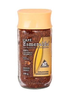 Кофе Cafe Esmeralda растворимый Швейцарская Карамель 100 гр