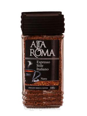Кофе Alta Roma Nero растворимый 100 гр ст.б.