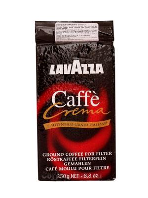 Кофе Lavazza молотый Caffe Crema 250 гр