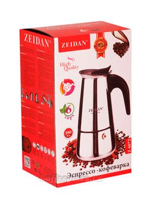 Гейзерная кофеварка Zeidan (Z 4072) 6 порции