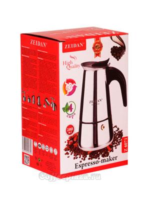Гейзерная кофеварка Zeidan (Z 4071) 4 порции