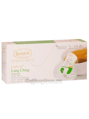 Чай Ronnefeldt Lung Ching / Лунцзин в саше на чашку (Leaf Cup)