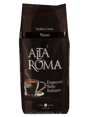 Кофе Alta Roma в зернах Nero