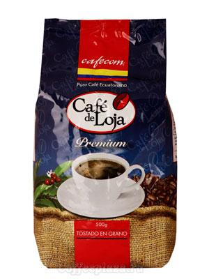 Кофе Cafecom в зернах Cafe de Loja 500 гр