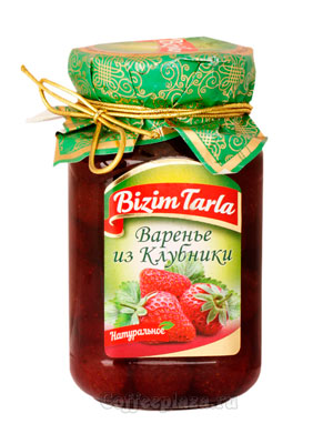 Варенье Bizim Tarla из клубники 400 гр