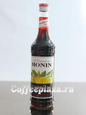 Концентрированный напиток Monin с экстрактом чая Огурец-Лимон