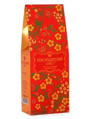 Чай Краснодарский букет черный байховый крупнолистовой 75 гр