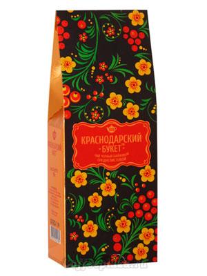 Чай Краснодарский букет черный байховый среднелистовой 100 гр