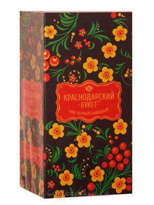 Чай Краснодарский букет Черный пакетированный