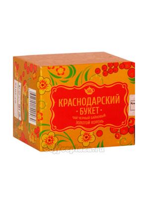 Чай Краснодарский букет Черный с золотым корнем 50 гр