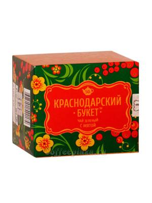 Чай Краснодарский букет Зеленый с мятой 50 гр