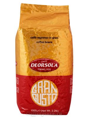 Кофе Deorsola в зернах Gran Gusto