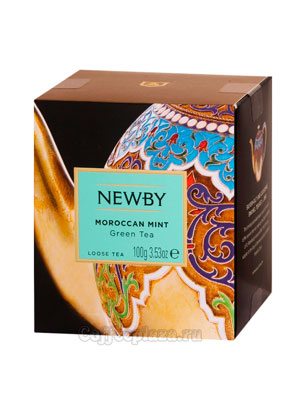 Чай листовой Newby Марокканская мята 100 гр