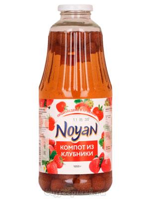 Компот Noyan Клубничный 1050 гр