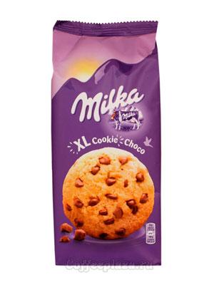 Бисквитное печенье Milka Choco XL 184 гр