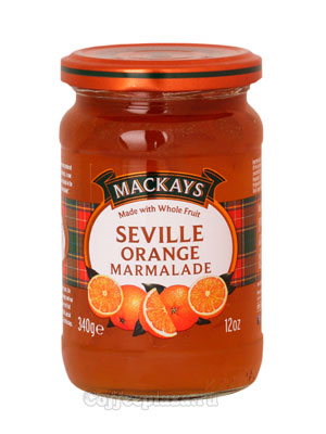Джем Mackays из апельсина Севильский 340 гр