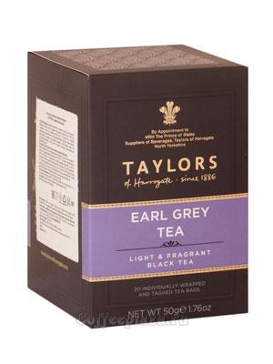 Чай пакетированный Taylors Earl Grey / Эрл Грей 20 шт
