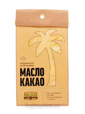 Бритарев масло какао натуральное Колумбия 100 гр