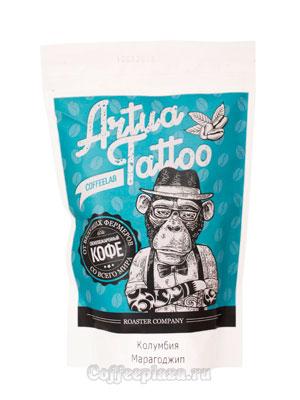 Кофе Artua Tattoo Coffeelab Колумбия Марагоджип в зернах 250 гр