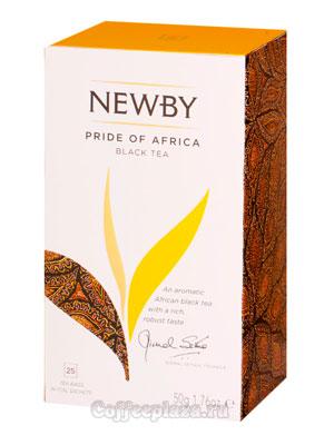 Чай пакетированный Newby Африканская гордость 25 шт