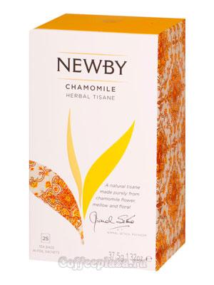 Чай пакетированный Newby Цветы ромашки 25 шт