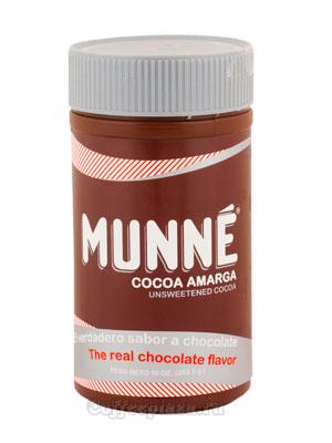 Натуральный какао Munne Amarga в банке 283,5 гр (без сахара)