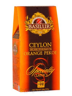 Чай Basilur Избранная классика Orange Pekoe 100 гр