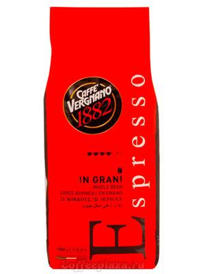 Кофе Vergnano в зернах Espresso Bar 1 кг