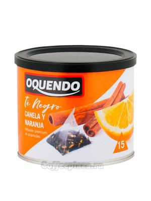 Чай Oquendo Апельсин и Корица пирамидки 15 шт