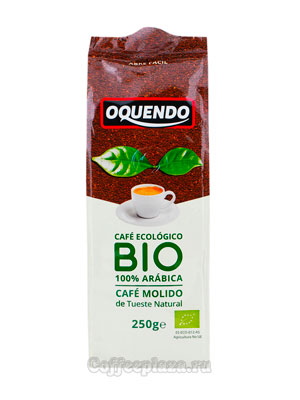 Кофе Oquendo молотый Arabica Bio Ecologico 250 гр
