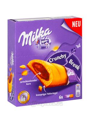 Бисквит Milka Crunchy Break (белые) 156 гр
